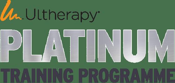 Ultherapy® Platinum training programme logo.